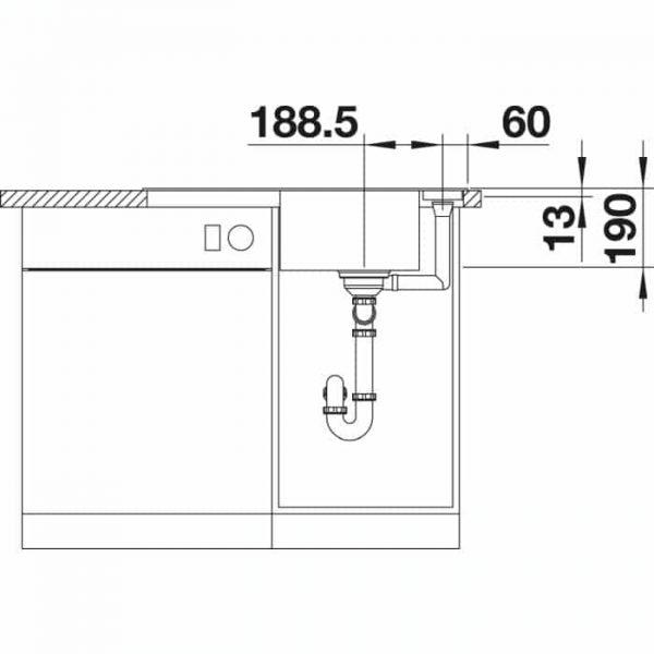 BLANCO AXIA III 45 S (523174)