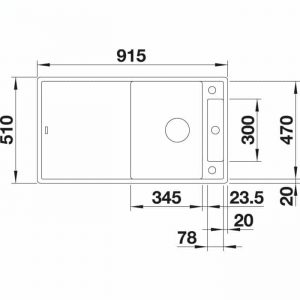 BLANCO AXIA III 5 S (523209)