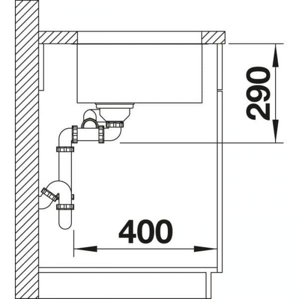Blanco Andano 340/180-U (522979)