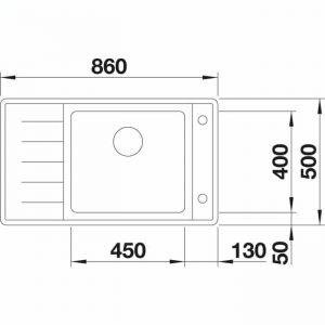 BLANCO ANDANO XL 6 S-IF Compact (523001)