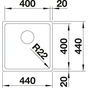 Blanco A-Style 400-U (523007)