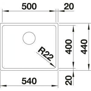 Blanco A-Style 500-U (523010)