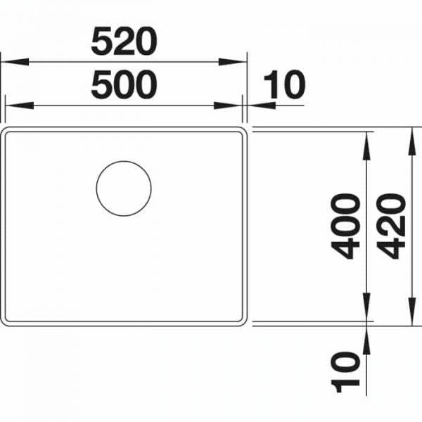 Blanco Attika XL 60 (521598)