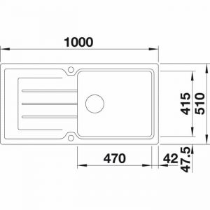 BLANCO CLASSIC NEO XL 6 S (525864)