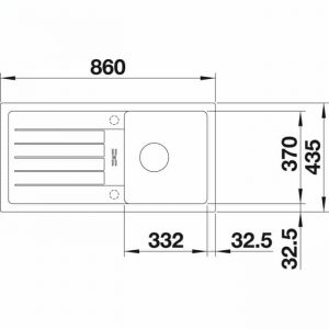 BLANCO FAVUM 45 S (524228)