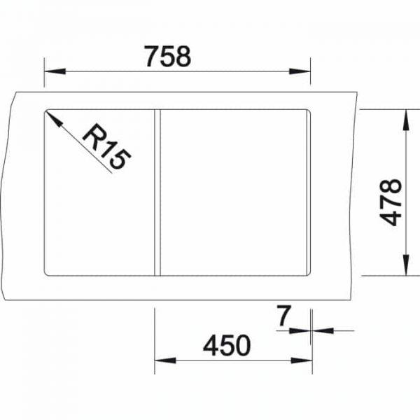 Blanco Idessa 45 S (519602)