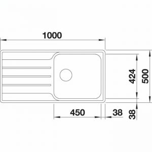 Blanco Lemis XL 6 S-IF (523034)