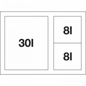 BLANCO FLEXON II XL 60/3 (521473)
