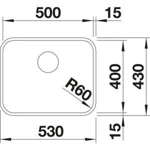 Blanco S-Style 500-U (522238)