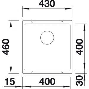 Blanco Subline 400-U (525990)