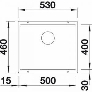 Blanco Subline 500-U (525995)