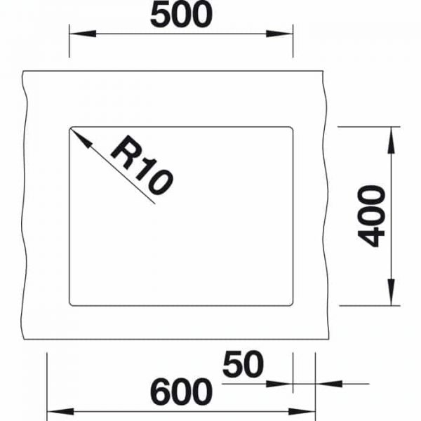 Blanco Subline 500-U (523433)