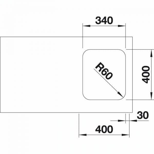 Blanco Supra 340-U (518200)
