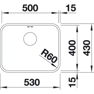 Blanco Supra 500-U (518206)
