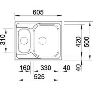 Blanco Tipo 6 Basic (514813)