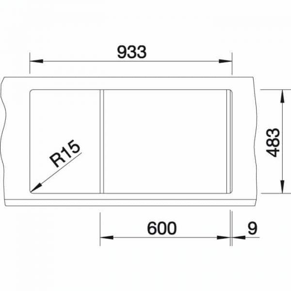 Blanco Tipo 6 S Basic (512300)