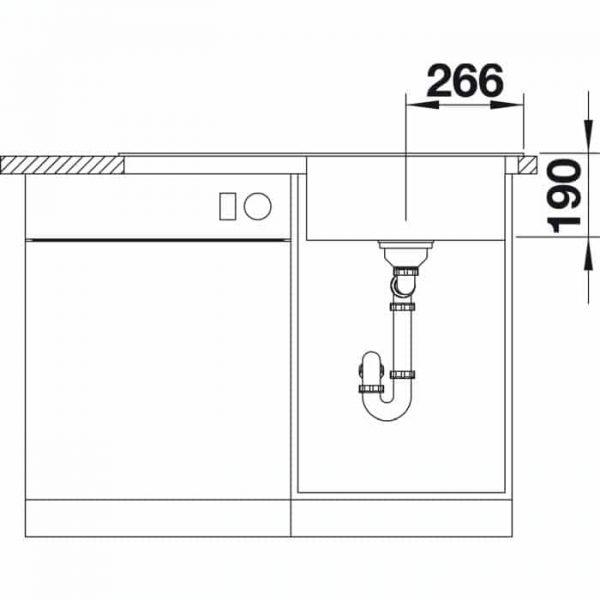 Blanco Zenar 5 S (523936)