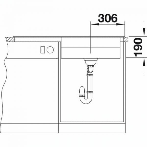 Blanco Zenar XL 6 S DampfgarPlus (524069)