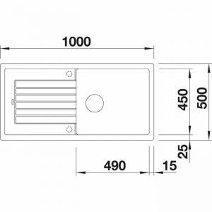 Blanco Zia XL 6 S (517566)