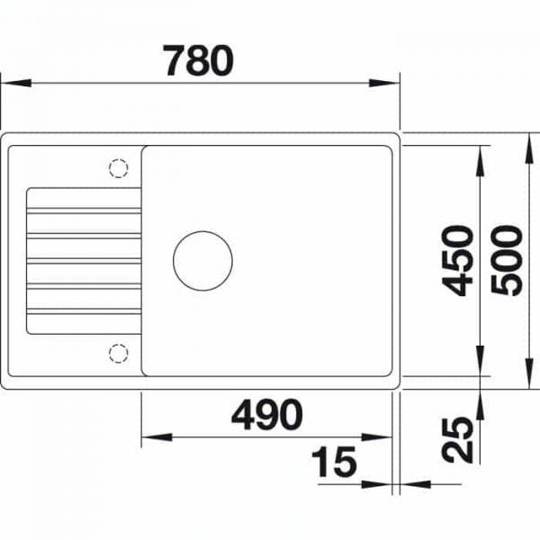 BLANCO ZIA XL 6 S (523266)