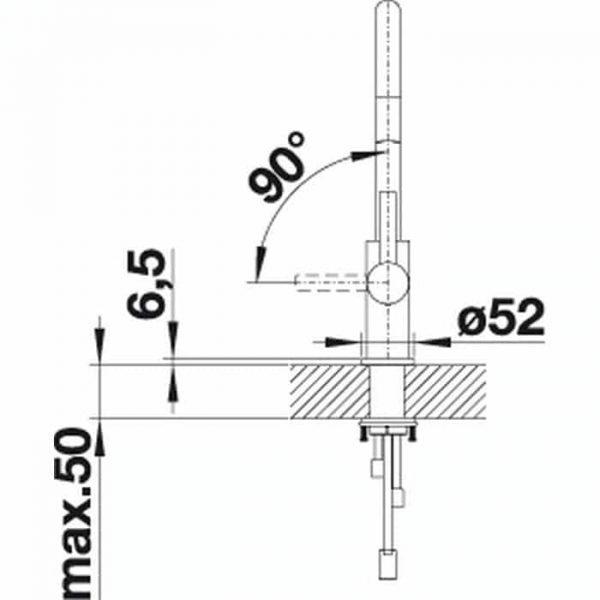 BLANCO CANDOR-S (525125)