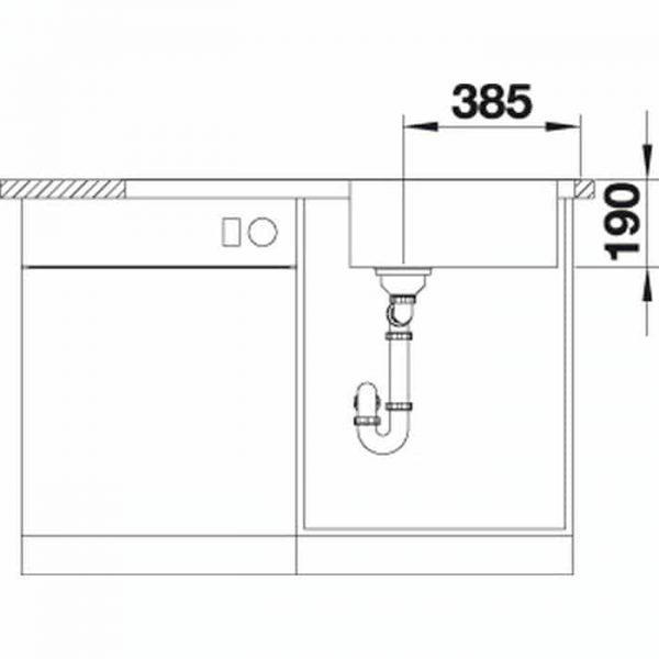 Blanco DINAS XL 6S (524254)