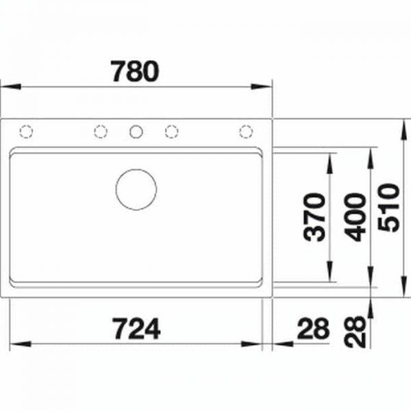 Blanco ETAGON 8 (525302)