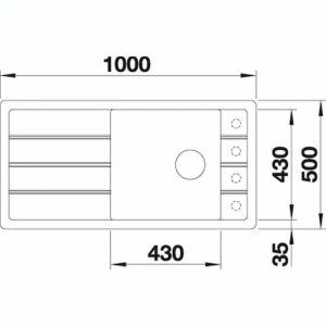 Blanco FARON XL 6 S (524806)