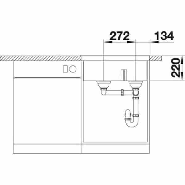 Blanco Pleon 6 Split (525307)