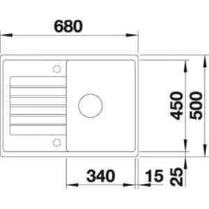 Blanco ZIA 45 S Compact (524726)