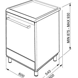 Smeg CX68CM8