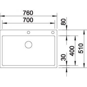 Blanco CLARON 700-IF/A (521634)