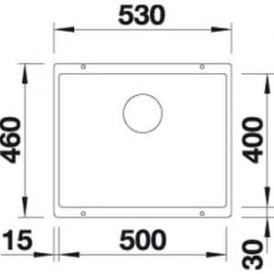 Blanco Subline 500-U (526340)